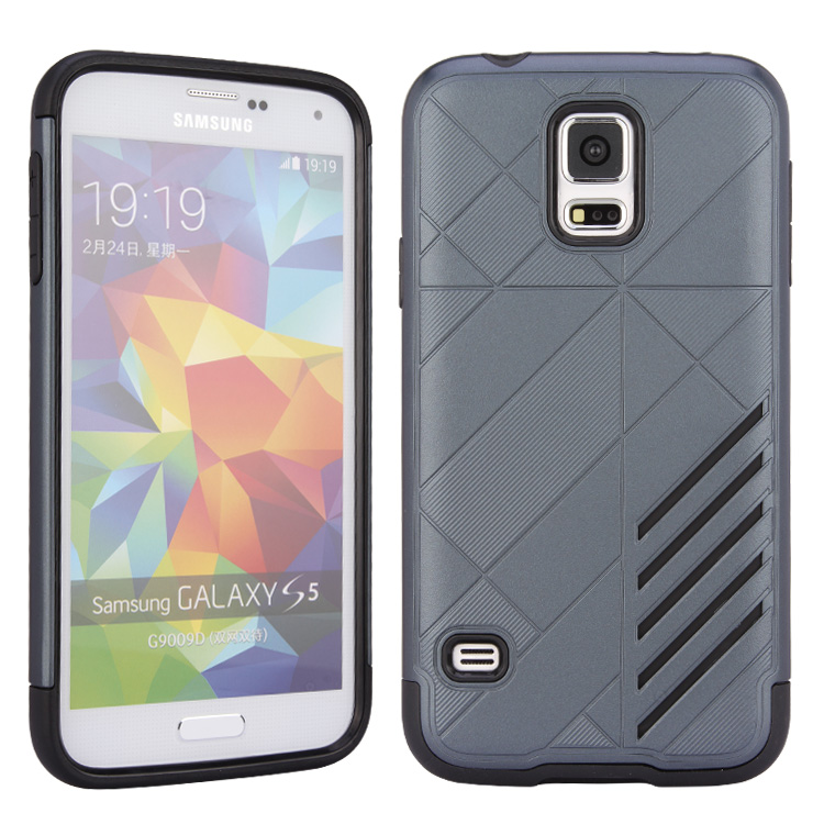 Beautiful design fashion cover tpu pc 2 in 1 cell cover for samsung galaxy s5 mini cover case