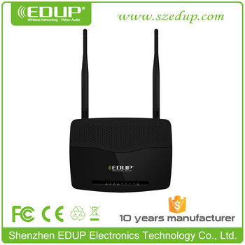 300Mbps Wireless 192.168.1.1 WiFi Router with 5dBi High Gain Antenna