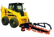 Attachment of JC Series Skid steer Loader :Trencher