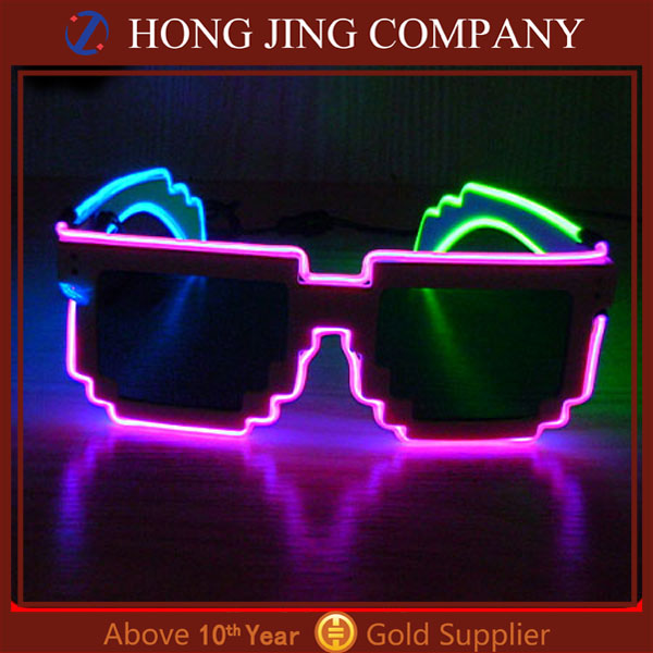 halloween led light glasses, led sunglasses, sunglasses