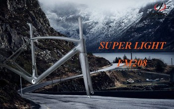 Ultra light carbon bicycle frame 61cm FM208 super light bicycle frame carbon
