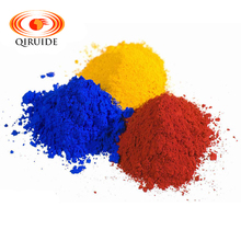 Inorganic color ceramic glaze pigment powder of many colors