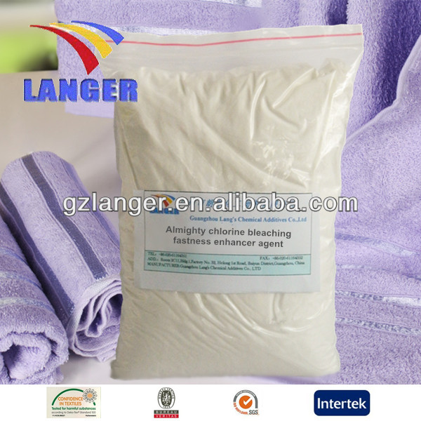 Almighty chlorine bleaching fastness enhancer agent