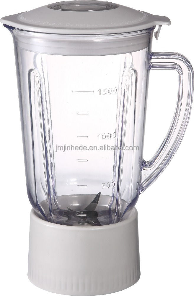 home appliance blender spare parts 1500ml blender jar
