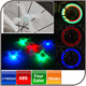 Waterproof 3 Modes 4 colors Bike Bicycle LED Wheel Light Glow Sticks Bicycle Wheel Light Decorative Light