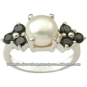 rainbow moonstone silver rings, 925 silver ring with black stone, 925 silver moonstone rings