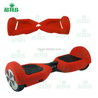 two wheel scooter hoverboard electric balance scooter silicone case skin cover sleeve