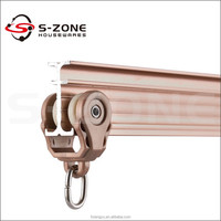 Commercial Curved Track Ceiling Mount Bendable Small Curtain Track