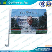 Advertising Usage and Plastic Flagpole Material car flag