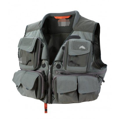 Wholesale price and best quality custom 100% nylon fly fishing vest