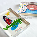 Acrylic block, Novelty design acrylic child gifts, AG-001