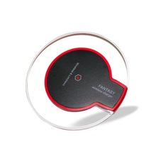 Hot Sale Universal Qi Mobile Phone Rechargeable Wireless Charger with Receiver For Iphone8