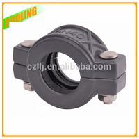 "Easy Installation 8"" DN200 219mm pvc pipe fitting reducing coupling with flexible type and Best Service"
