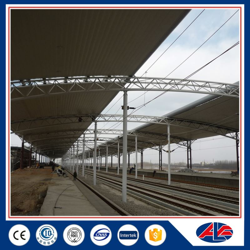 prefabricated steel house semi circle roof trusses
