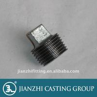 Malleable Casting Iron Plain Plug 291 Din Standard