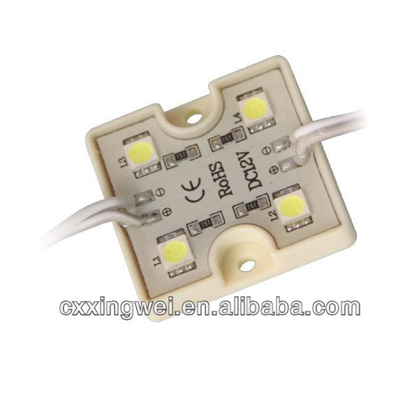 ce&rohs 5050 4led not waterproof led modules made in china