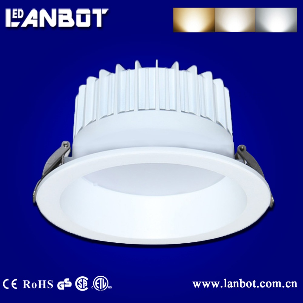 30W tunable white Remote control LED downlight, CCT changeable SMD Zigbee wifi led
