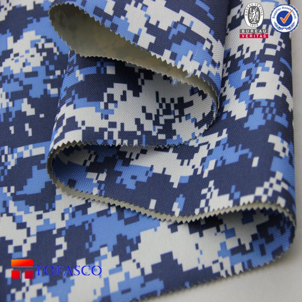 Camouflage Pattern Oxford Fabric ,used for bag , tent , luggage , beach chair printing.