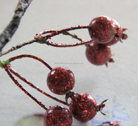 Native decor flowers and plants artificial berry branch