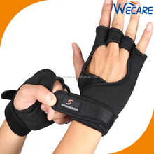 Workout Weight Lifting Gloves Protection For Crossfit Training Powerlifting Gym Workouts With Wrist Wraps