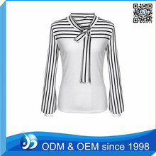 OEM Fashion Causual Big Bow Blouse for Girls