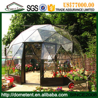 Aluminum Frame Glass Roof Wholesale Geodesic Glass Domes