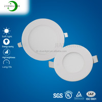 China hot sale wholesale SMD2835 3w 6w 9w 12w 15w 18w slim ultra thin flat wall square round ceiling led panel light