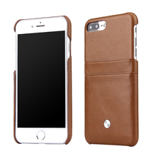 Hot New Products for 2017 PU Leather Back Cover Case for iPhone 7 Plus