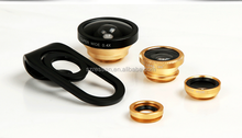 new product 4 in 1 camera lens Circular filter+0.67X Wide angle+Fish eye+ Macro Lens for mobile phone