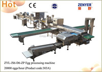 factory price chicken egg processing machine /egg cleaning grading automatic packing machine