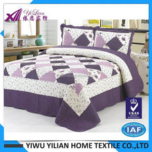 New product special design bed sheet hand work 2016