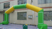 Inflatable Advertising Arch / Entrance Arch With Velcro Branded