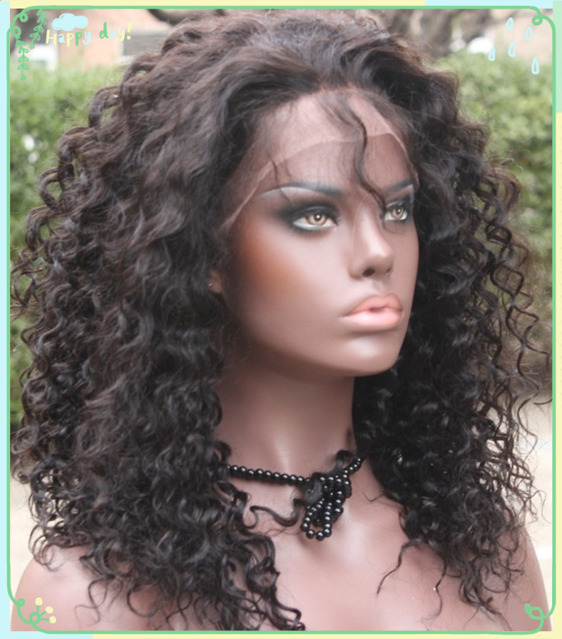 Factory human hair full lace wigs for black women,free lace wig samples human hair,wholesale natural women human hair wig