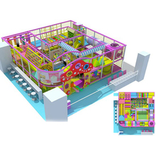 High quality electric kids games plastic indoor playground equipment