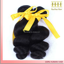 Chemical Free Wholesale beauty supply distributors nice loose curl human hair weaving
