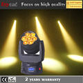2017 new 7x 15w 4-in-1 led zoom wash dmx controlor beam moving head with 2 years warranty