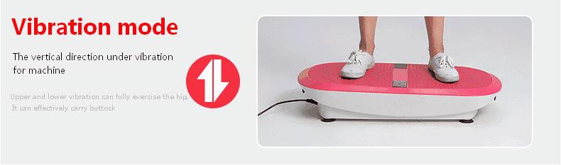 confidence fitness slim vibration platform fitness machine