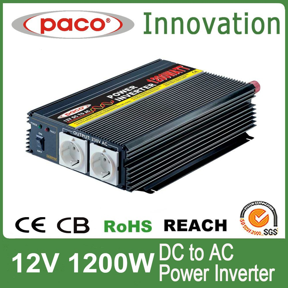 Motor inverter 1200W,off grid DC to AC,with CE CB ROHS certificate