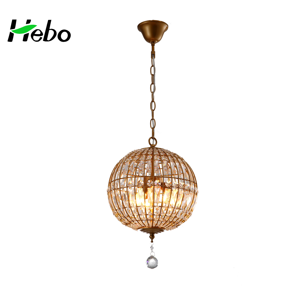 Home used globe pendant light ,Professional supplier crystal chandeliers lights