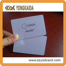 Customize 13.56Mhz RFID Classic Card Chips Optional
