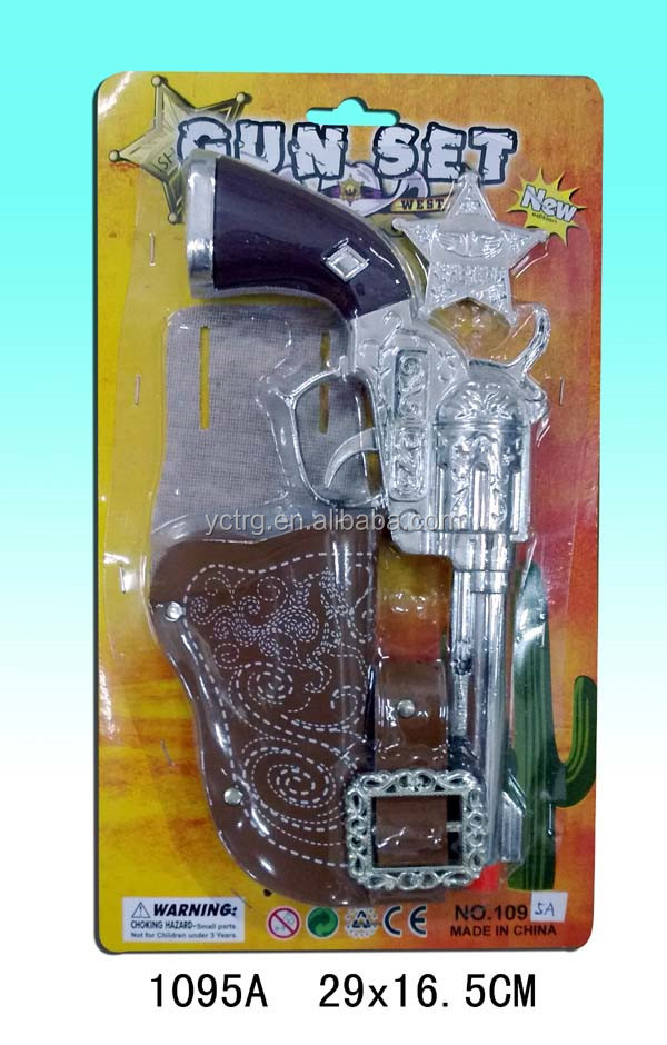 Interesting cheap play set bronze pirates series plastic gun toy