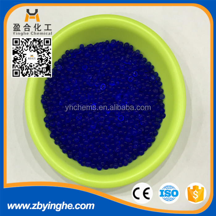 Blue silica gel bead for shoes,equipment