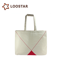 Standard Size Custom Design Printed Organic Cotton Canvas Tote Bags Cheap Plain White Color Road Shopping Bag Blank Wholesale