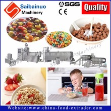 China manufacturer Breakfast Cereal corn flakes production process for wholesale