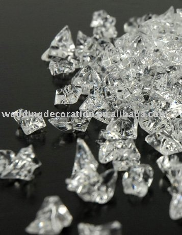 Wholesale clear crystals acrylic ice