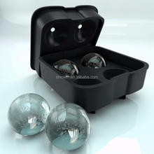 Ice Maker Cube Round Tray Molds Whiskey Ball Cocktails Silicone