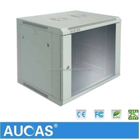 Aucas Standard 19 Inch Wall Mount Network Server Rack/Cabinet 6U 9U 12U
