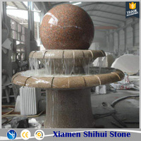 New Pattern Marble Rolling Ball Water Fountain