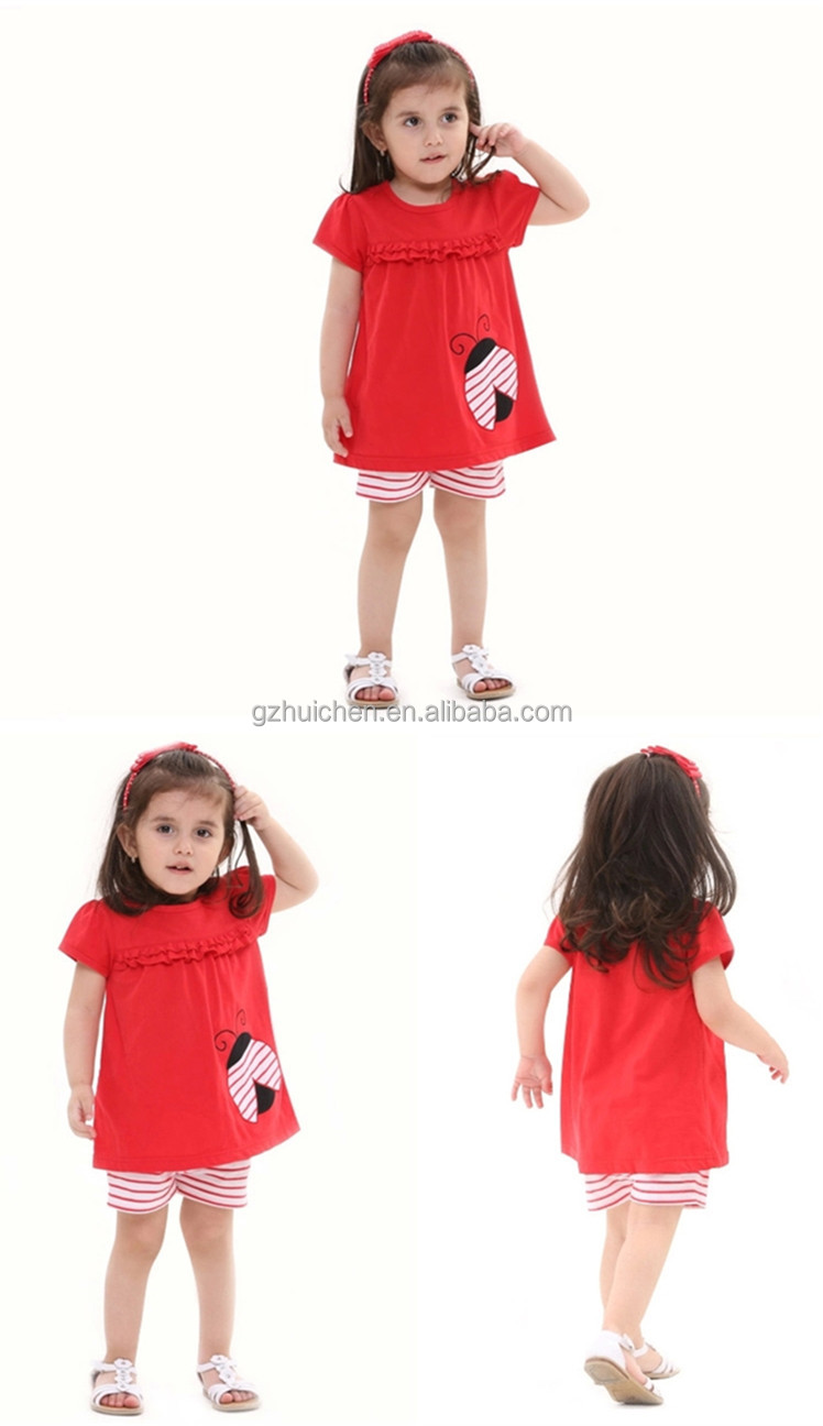 2014 Summer Baby Clothing Set Girls Children Clothing Sets Kids Dress Set from MOM AND BAB