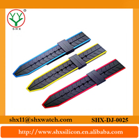 Wholesale price colorful strap vogue silicone rubber band LED digital watch 38mm/42mm silicone strap silicone watch band